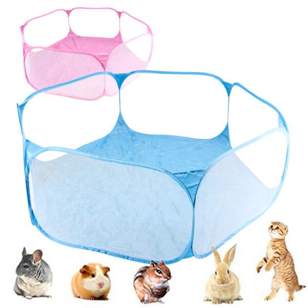 Giá bán Pet Playpen, Lồng Động Vật Nhỏ Mở Trong Nhà/Ngoài Trời Thời Trang Tiện Dụng, Hàng Rào Sân Chơi Trò Chơi Cho Hamster Chinchillas Lợn Guinea