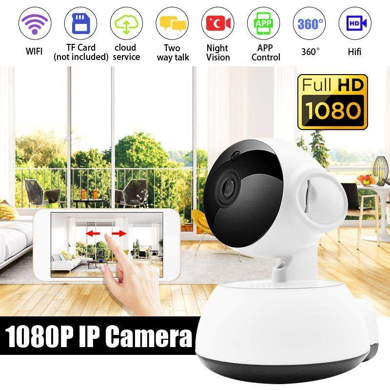 1080p Wifi Wireless Ip Camera Security Home Network Video Surveillance Night Vision Smart Indoor Baby Monitor V380 By Smart Mate.
