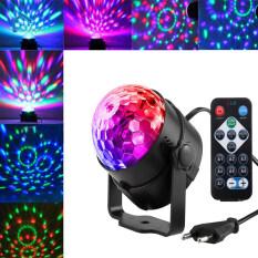 Đèn Chiếu Dragonpad 3W LED RGB Dạng Xoay Tròn Trang Trí Sân Khấu Tiệc Tùng Vũ Trường Đám Cưới – INTL