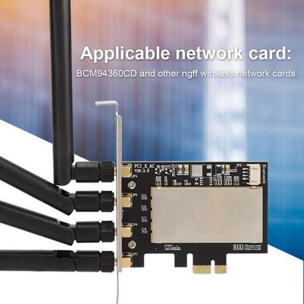 Bảng giá BCM94360CD Adapter, Bộ Chuyển Đổi NGFF Sang PCI-E Card Chuyển Đổi Card Mạng Không Dây Để Bàn Phong Vũ
