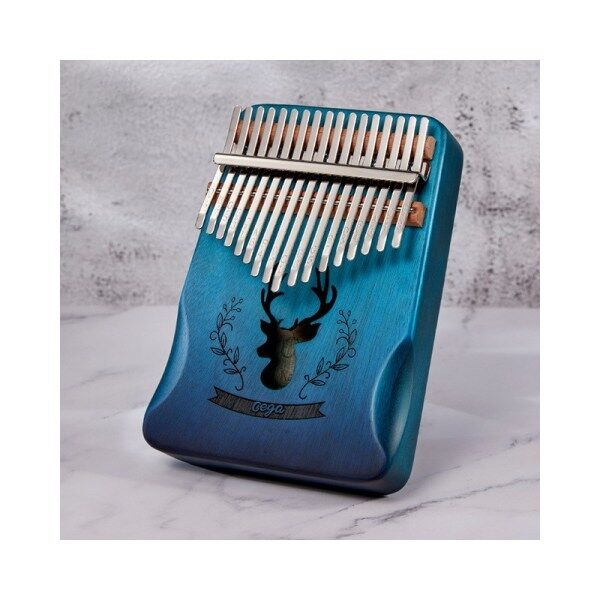 SECU-STAR Kalimba 17 Keys Thumb Piano African Fingers Piano with Tuning Hammer accessories Malaysia