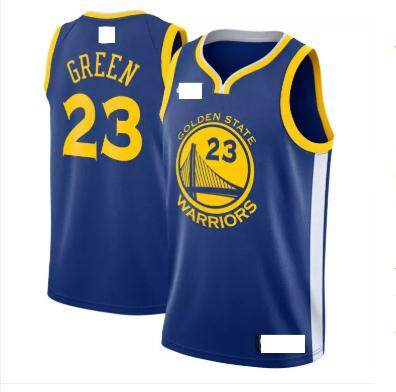Black Swingman Jersey NBA Golden State Warriors Basketball Clothes Men's  Draymond Green #23 Team Color Chase Fashion Statement Edition