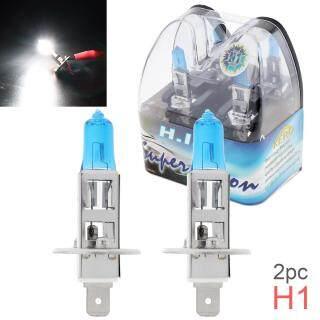 2 Chiếc Đèn Trắng 12V H1 55W 6000K, Đèn Xenon Halogen Siêu Sáng Thông Dụng Cho Xe Hơi Bóng Đèn Sương Mù Đèn Pha Phía Trước Ô Tô thumbnail