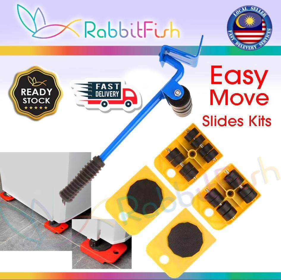 Ready Stock Home Trolley Lift And Easy Move Slides Kit Easily System By Rabbitfish.