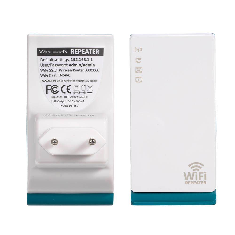 Wire less Repeater WiFi Extender with RJ45 LAN and WAN Port 2.4G Band WiFi Coverage Repeater/AP Mode EU Plug