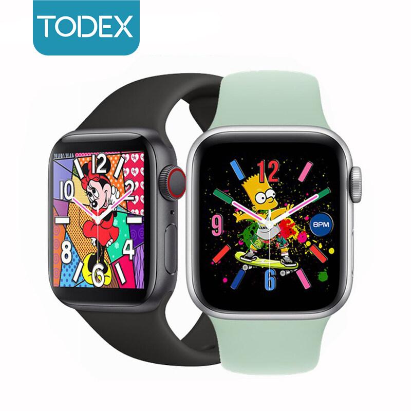 Đồng Hồ Thông Minh TODEX T500 Dây Đeo Cổ Tay Thể Thao Chống Nước PK Apple Watch Series 5 Cho IOS/Android Màn Hình 45Mm Cảm Ứng Toàn Màn Hình Có Bluetooth Gọi Điện Phát Nhạc