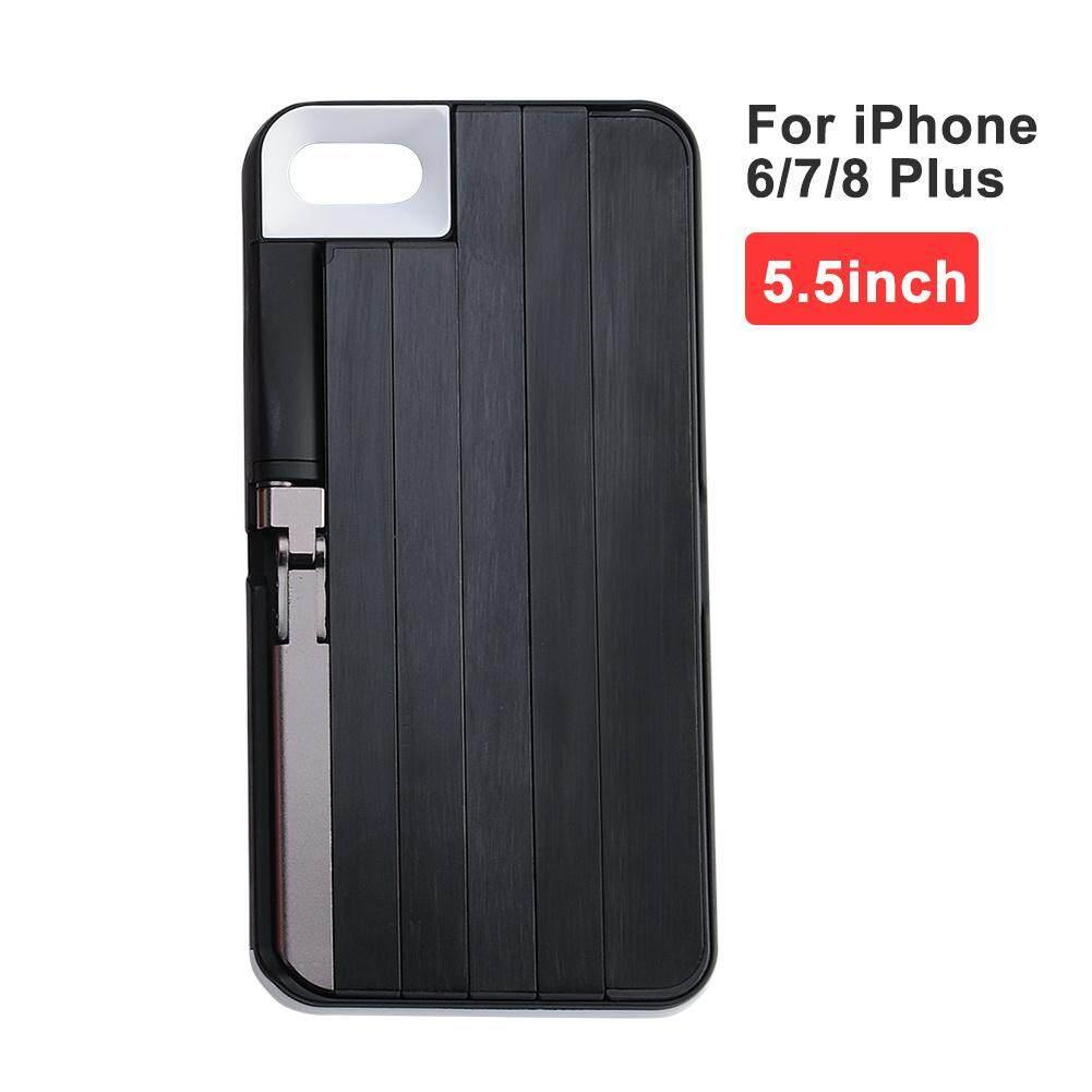 Generasi Kedua Saku Bluetooth Casing Ponsel Tongkat Selfie untuk iPhone 6/7/8 IPhone6/7/8 PLUS iPhone X