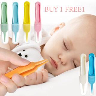 Buy 1 Miễn Phí 1 Baby Kẹp Mũi Bé Chăm Sóc Hàng Ngày Làm Sạch Tweezer An Toàn Đầu Tròn Clip Đồ Dùng Nhà Tắm Bé thumbnail