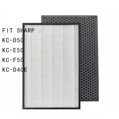 Bảng giá Dành Cho Máy Lọc Không Khí KC-D50 KC-E50 KC-F50 KC-D40E Đống Lọc Actived Carbon Lọc 40*22*2.8 + 40*22*1 Cm Điện máy Pico