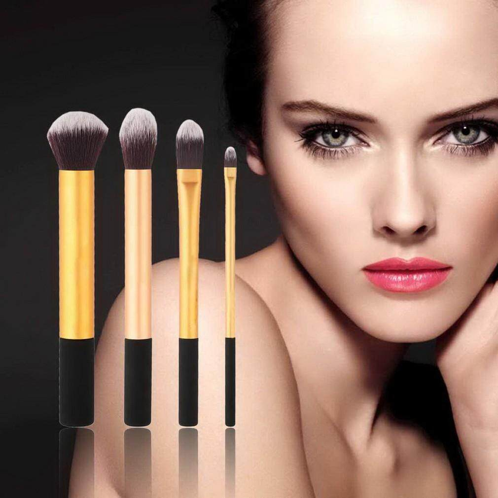 Hot New 4pcs Professional Cosmetic Makeup Brush Powder Foundation Face Brushes