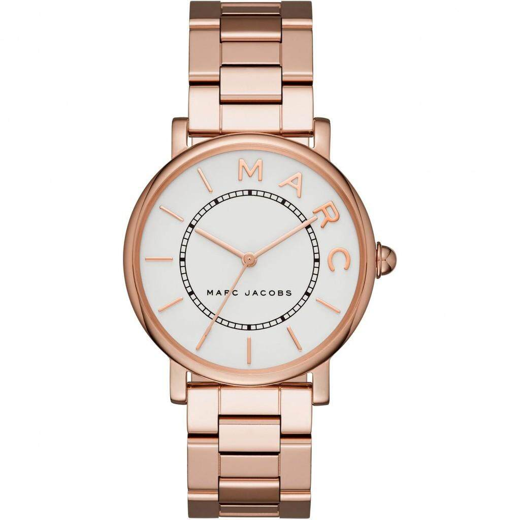 c852ad5000f4f Marc Jacobs Roxy Silver Dial Ladies MJ3523 Rose Gold Tone Watch - brand  watches.