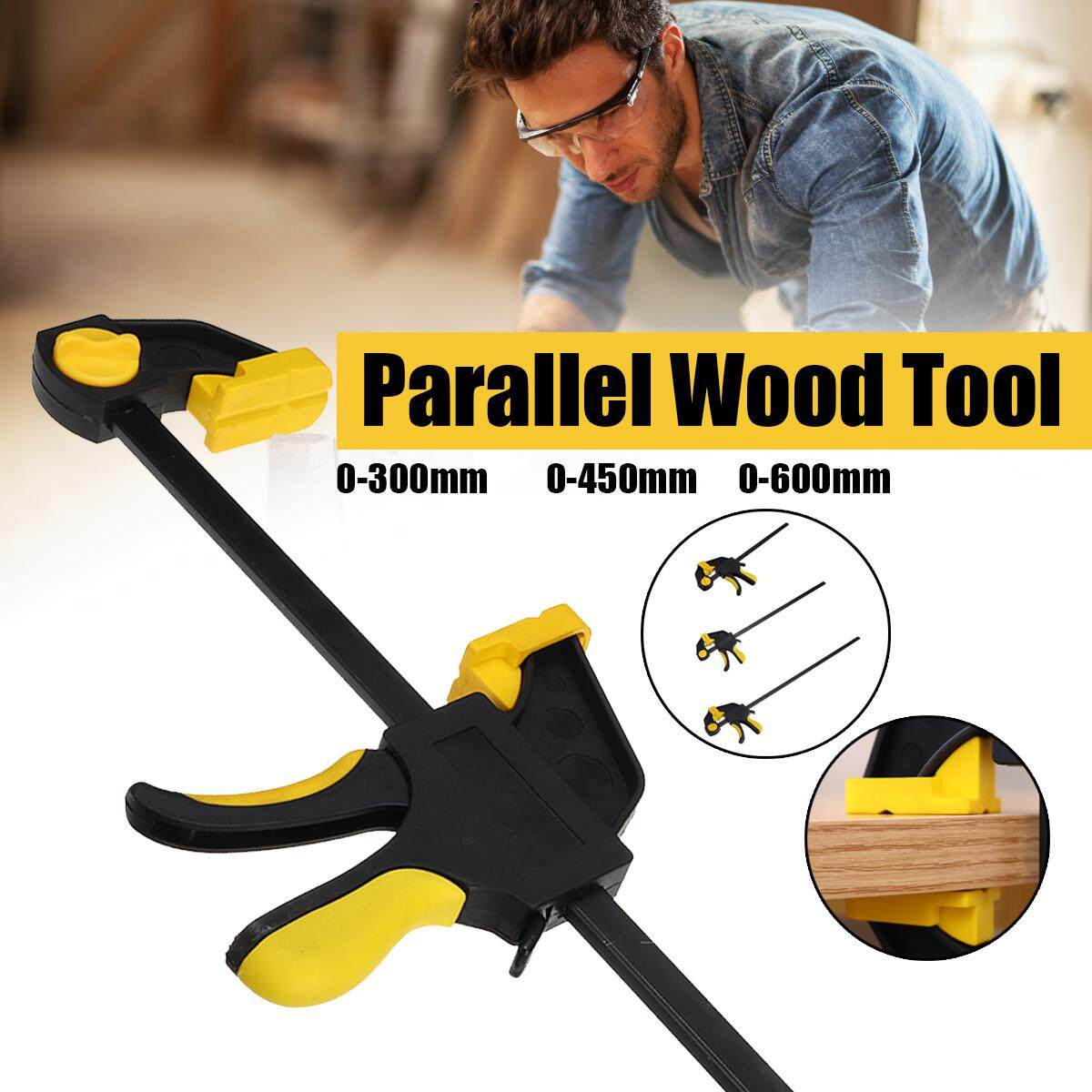 600mm Quick Release Parallel F Clamp Plastic Heavy Duty Wood Working Grip Clip