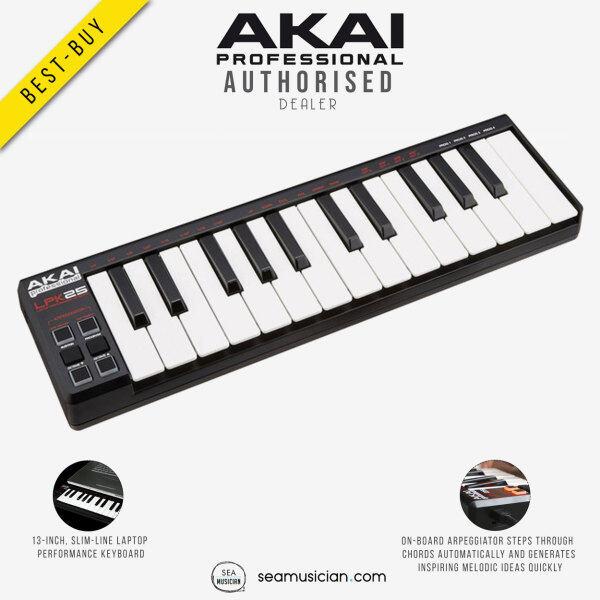 AKAI LPK25 V2 25-KEY LAPTOP PERFORMANCE KEYBOARD CONTROLLER (LPK25-V2/ MIDI CONTROLLER/ SEAMUSICIAN) Malaysia