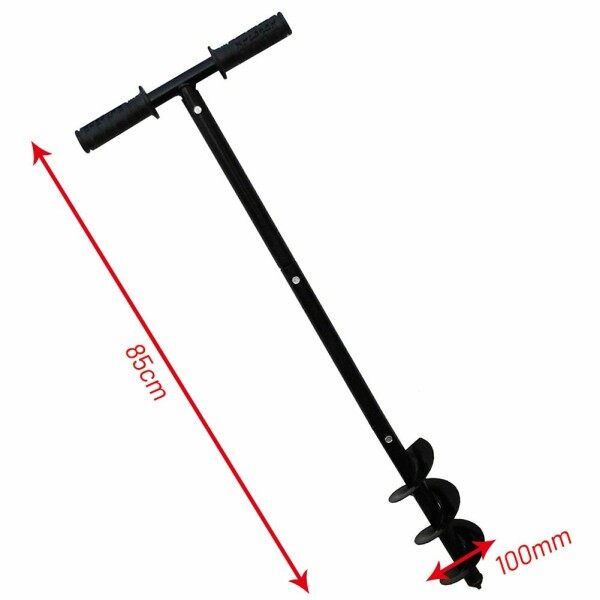 8\ Hand Earth Auger Auger Drill Earth Hand Hole Manual Soil 4\ Practical