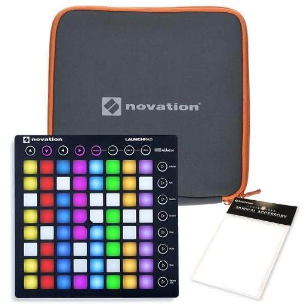 NOVATION Novation grid controller LaunchPad MKII Amazon original cleaning cloth / genuine sleeve set Malaysia