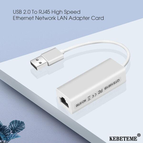 Bảng giá KEBETEME Thẻ Chuyển Đổi Mạng USB 2.0 Sang RJ45 Lan RD9700 Tốc Độ Cao Cho M Ac OS Máy Tính Xách Tay Android Windows XP 7 Khuyến Mại Phong Vũ