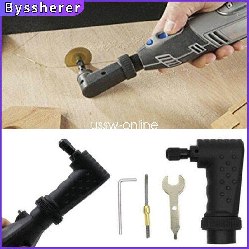 Byssherer 575 For Original Dremel 4000 3000 275 Grinder Right Angle Converter Rotary Tool 90° Electric Drill Corner
