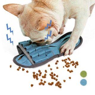 Đồ Chơi Tương Tác Cho Chó Cưng, Đào Tạo IQ Câu Đố Snuffling Đồ Chơi Chít Thức Ăn Cho Ăn Chậm Cho Đồ Chơi, Dép Nhai Vui Nhộn Cho Chó thumbnail