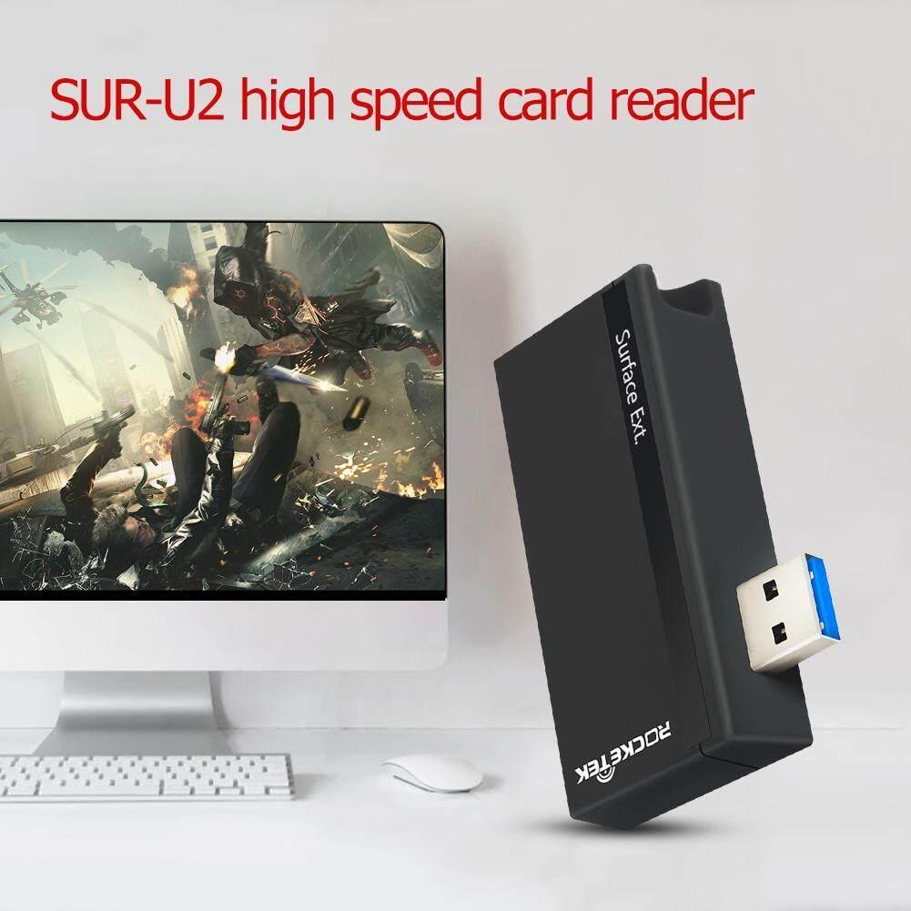 Dreamall ROCKETEK SUR-U2 Đầu Đọc Thẻ Nhớ USB 3.0 Tốc Độ Cao Thẻ Mở Rộng Adapter - 2