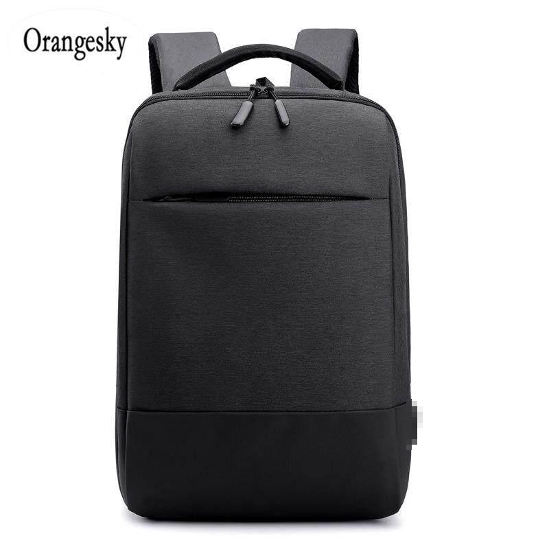 Orangesky Men Laptop Backpack Waterproof Usb Charge Travel Clothes Storage School Bag By Orangesky.