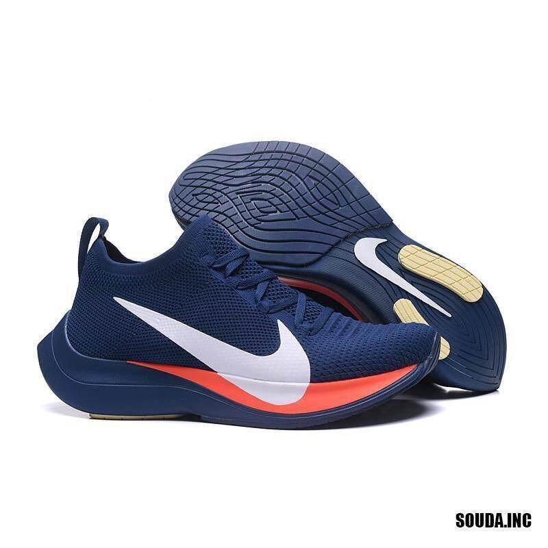 Asli Nike_Men Melanggar 2 Zoom Terbang Berjalan Sepatu Kets Olahraga