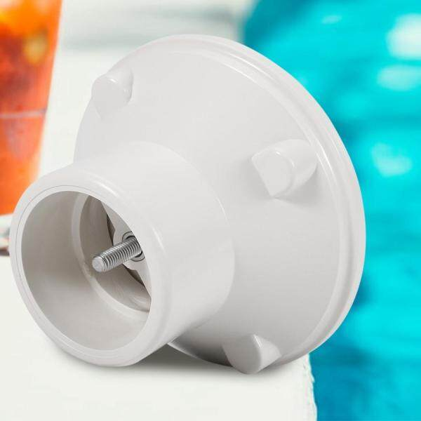 G1-1/2in White Adjustable Floor Inlet Concrete Pool Fitting Swimming Pool Accessories