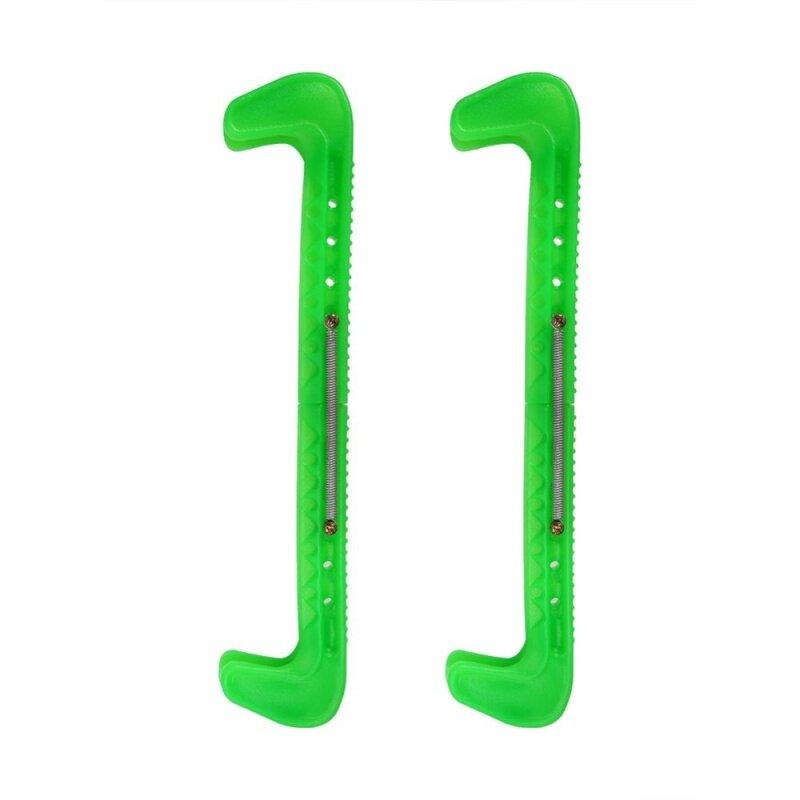Mua 1 Pair Plastic Adjustable Ice Skate Blade Guards Covers (green)