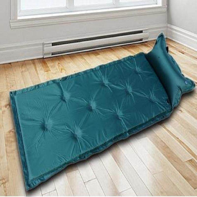 Discount 1 Self Inflating Air Mattress Pad Mat Sleeping Pillow Bed Camping Hiking Picnic Intl
