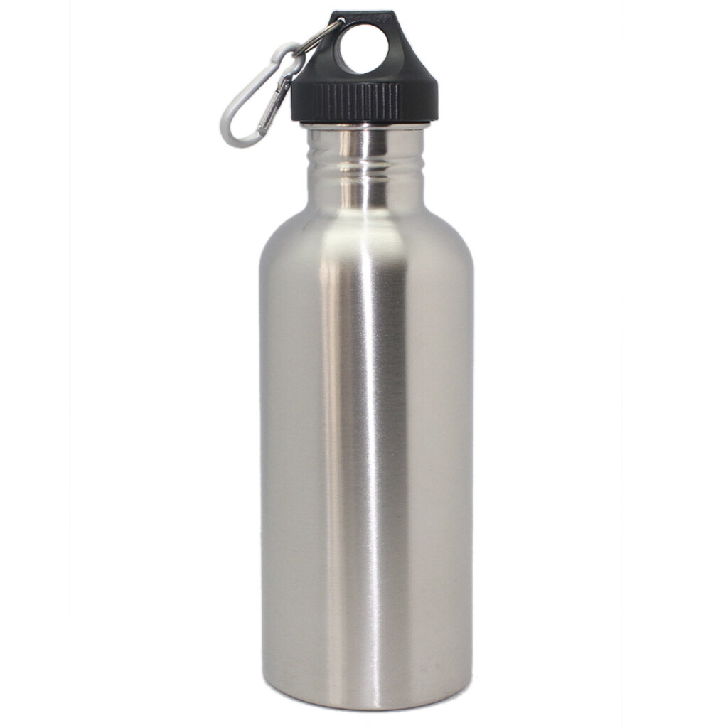 Compare Prices For 1000Ml 304 Stainless Steel Wide Mouth Cycling Sports Drinking Water Bottle Intl