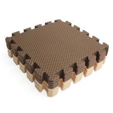 10x Eva Foam Puzzle Exercise Play Mat Interlocking Floor Soft Tiles 12x12''