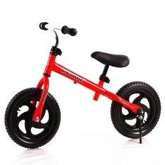 BH 12 Inch Anak-anak Roda Dua Pushbike Latihan Keseimbangan Sepeda dengan Setang Yang Bisa Disesuaikan dan Pelana