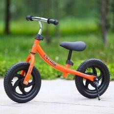 Ti 12 Inch Roda Dua Pushbike Anak-anak Latihan Keseimbangan Sepeda dengan Setang Yang Bisa Disesuaikan dan Pelana