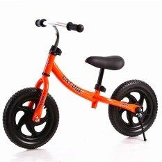 Lb 12 Inch Roda Dua Pushbike Anak-anak Latihan Keseimbangan Sepeda dengan Setang Yang Bisa Disesuaikan dan Pelana Warna: Jeruk Ukuran: 12 Inch