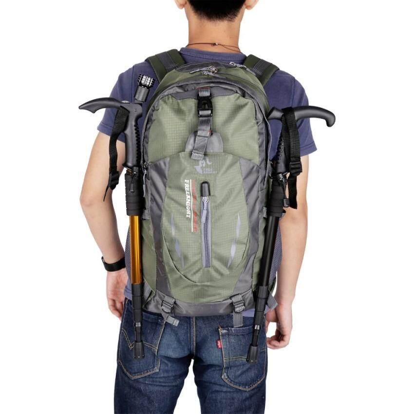 Deals For 120 Zh Free Knight 005 Outdoor Sports Backpack Hiking Camping Waterproof Nylon Bag 40L Army Green   Intl