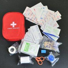 Hình ảnh 120pcs/pack Safe Camping Hiking Car First Aid Kit Medical Emergency Kit Treatment Pack Outdoor Wilderness Survival