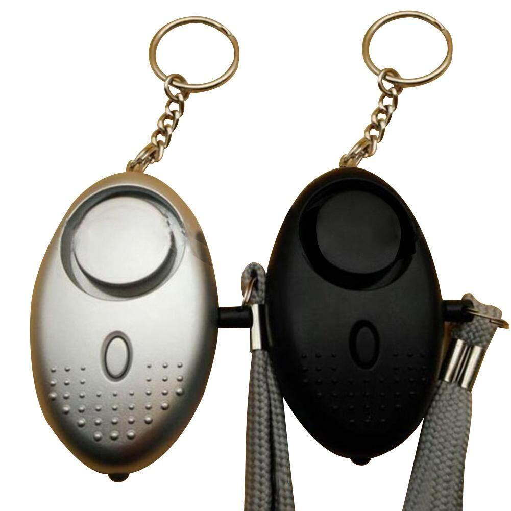 Keberuntungan-G 130db Mini Portabel Personal Alarm Gantungan Kunci Emergency Keamanan Alarm Tas Dekorasi untuk Wanita Anak Perempuan Elderly- internasional