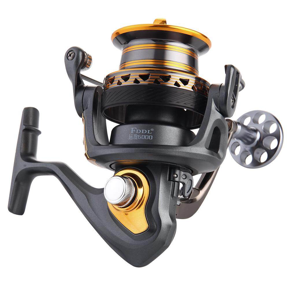 13+1BB Ball Bearings Professional Fishing Reel Long Distance Surfcasting Reel Left/Right Convertible Collapsible Handle Spinning Reel Fishing Tackle - intl