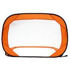 ceedf37a0 2 Set Pop Up Soccer Goals Football Net Kids Portable Mini Foldable Training  Gate