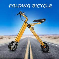 2017 8 Mini Travel Smart Portable Bicycle Folding Electric Bike