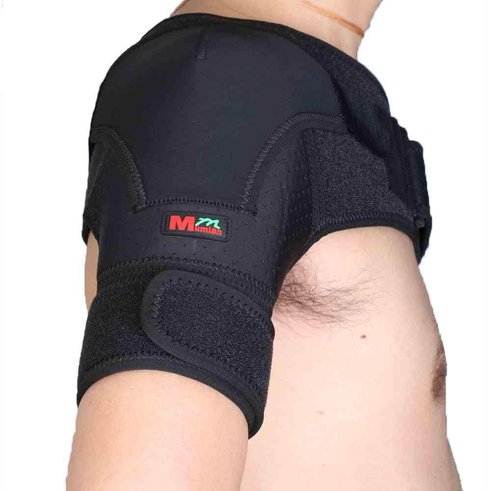 XKP 2017 Gym Sports Care Single Shoulder Support Brace Guard Strap Wrap Belt Band Pads Bandage