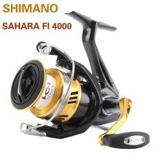 2017 New Arrival Original Shimano SAHARA FI Spinning Fishing Reel Hagane Gear X Ship Saltewater