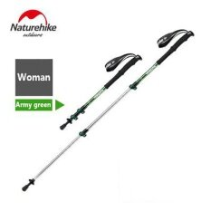 2017 New Brand Naturehike Alpenstocks Ultralight Trekking Folding Pole Walking Hiking Sticks Camping Family Alpenstocks By Fantastic-Life.