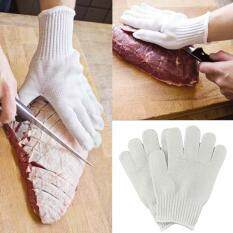 2017 New Cut Resistant Gloves Stainless Steel Wire Butcher Safety Work Gloves
