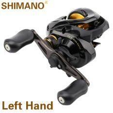 2017 Original Shimano BASS ONE XT Left Baitcasting Fishing Reel SVS Syetem Fishing Reel (Black, Left Hand)