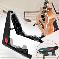 2017 Universal Black Folding Guitar Stand Aroma Ags-01 Portable Base Stand Tool By Weiyue Store.