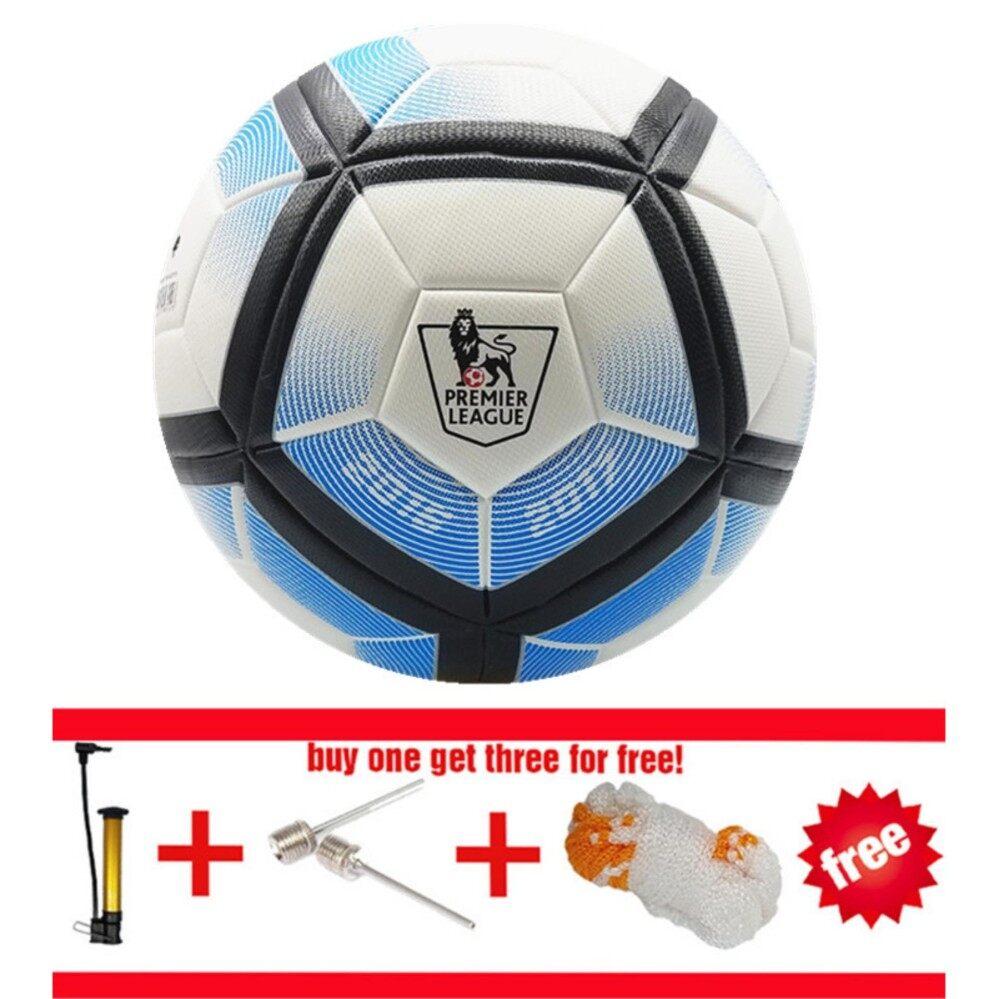 f3e289d854 2018 Premier League Official size 5 Football ball Seamless PU Soccer Ball  competition Training Football Ball
