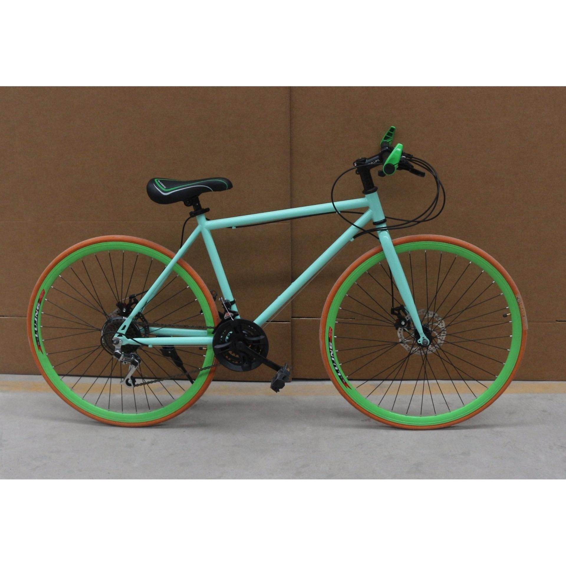 26 Inch 21 Speed Fixie Bike By Power Rider.