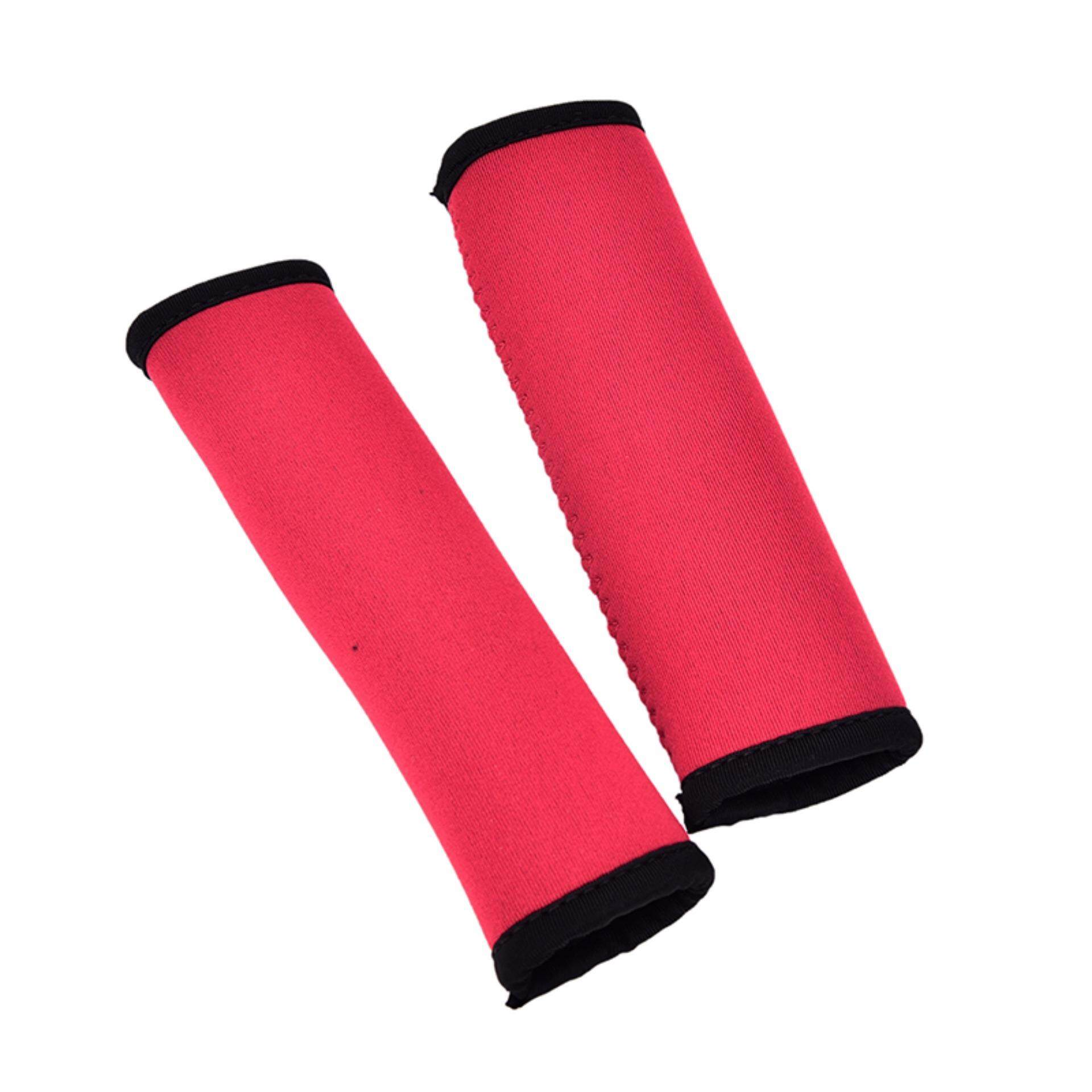 Hình ảnh 2Pcs Durable Kayak Canoe Boat Paddle Grips Prevent Blisters Calluses Fray Red - intl