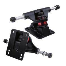 2pcs Skateboard Trucks Combo 3.25inch Skatebaord (black) By Epayst.