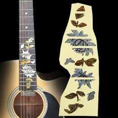 3 Patterns Guitar Inlay Sticker Decals Fingerboard Guitarra Fretboard Decals